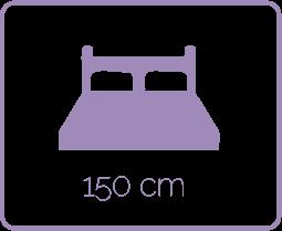 cama matrimonial de 1'50 cm
